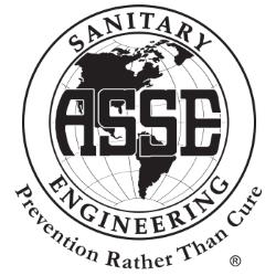 American Society of Sanitary Engineering Logo