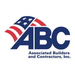 Logo for the Associated Builders and Contractors Inc. ABC
